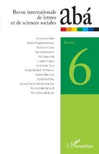 Cover Revue internationale de lettres et de sciences sociales aba n(deg)6