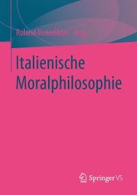 Cover Italienische Moralphilosophie