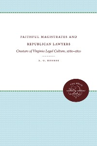 Cover Faithful Magistrates and Republican Lawyers