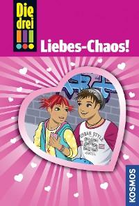 Cover Die drei !!!, 60, Liebes-Chaos! (drei Ausrufezeichen)