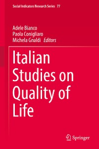Cover Italian Studies on Quality of Life