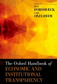 Cover Oxford Handbook of Economic and Institutional Transparency