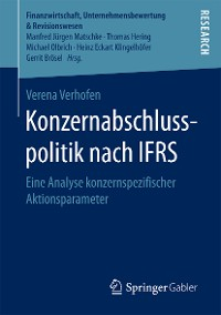 Cover Konzernabschlusspolitik nach IFRS