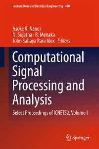 Cover Computational Signal Processing and Analysis