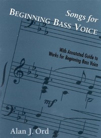 Cover Songs for Beginning Bass Voice