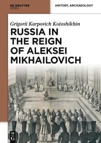 Cover Russia in the Reign of Aleksei Mikhailovich