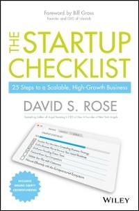 Cover Startup Checklist