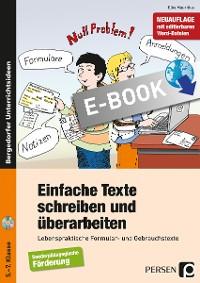 Cover Einfache Texte schreiben und überarbeiten