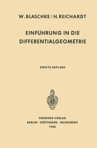 Cover Einfuhrung in die Differentialgeometrie