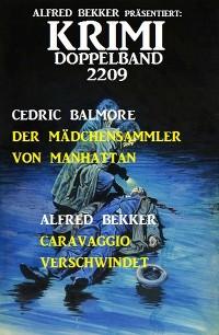 Cover Krimi Doppelband 2209