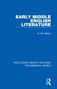 Cover Early Middle English Literature
