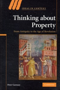 Cover Thinking about Property