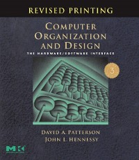 Cover Computer Organization and Design, Revised Printing