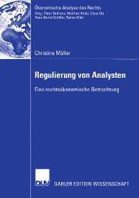 Cover Regulierung von Analysten
