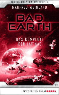 Cover Bad Earth 13 - Science-Fiction-Serie
