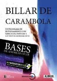 Cover BILLAR DE CARAMBOLA