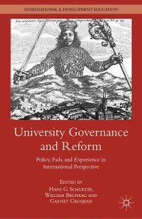 Cover University Governance and Reform