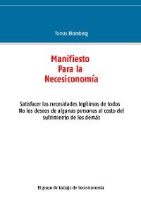 Cover Manifiesto Para la Necesiconomía