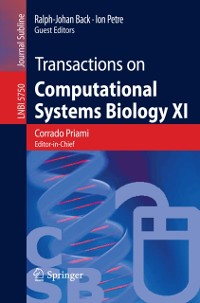 Cover Transactions on Computational Systems Biology XI