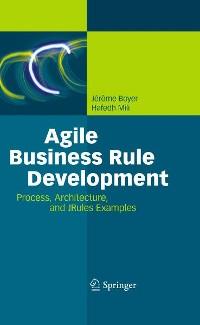 Cover Agile Business Rule Development