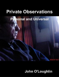 Cover Private Observations - Personal and Universal