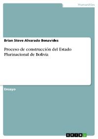 Cover Proceso de construcción del Estado Plurinacional de Bolivia