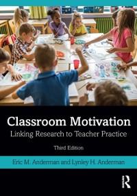 Cover Classroom Motivation