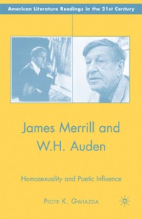 Cover James Merrill and W.H. Auden