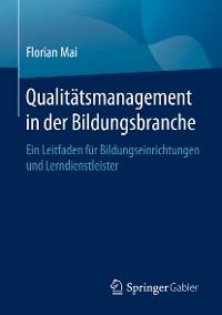 Cover Qualitätsmanagement in der Bildungsbranche