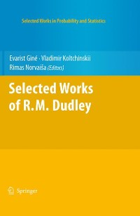 Cover Selected Works of R.M. Dudley