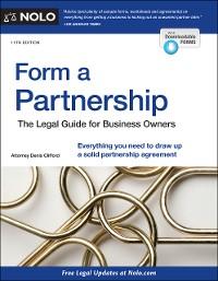 Cover Form a Partnership