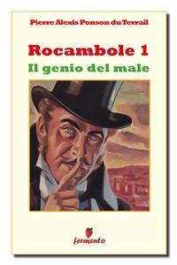 Cover Rocambole 1. Il genio del male