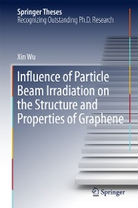 Cover Influence of Particle Beam Irradiation on the Structure and Properties of Graphene