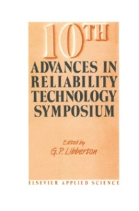 Cover 10th Advances in Reliability Technology Symposium