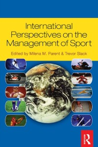 Cover International Perspectives on the Management of Sport