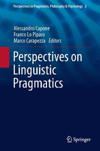 Cover Perspectives on Linguistic Pragmatics