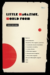 Cover Little Magazine, World Form