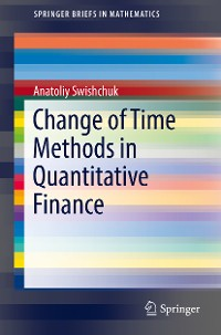 Cover Change of Time Methods in Quantitative Finance