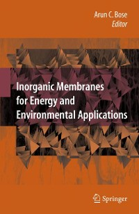 Cover Inorganic Membranes for Energy and Environmental Applications