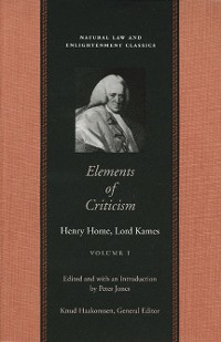 Cover Elements of Criticism