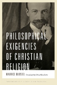 Cover Philosophical Exigencies of Christian Religion