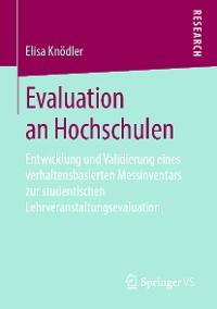 Cover Evaluation an Hochschulen