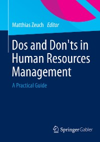 Cover Dos and Don'ts in Human Resources Management