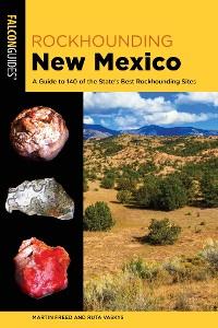 Cover Rockhounding New Mexico