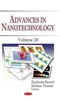 Cover Advances in Nanotechnology. Volume 20
