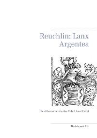 Cover Reuchlin: Lanx Argentea