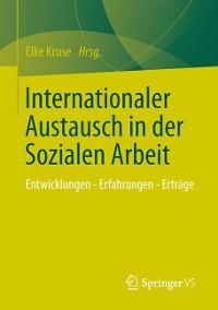 Cover Internationaler Austausch in der Sozialen Arbeit