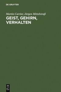Cover Geist, Gehirn, Verhalten