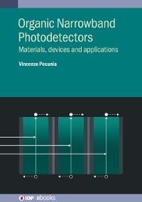 Cover Organic Narrowband Photodetectors