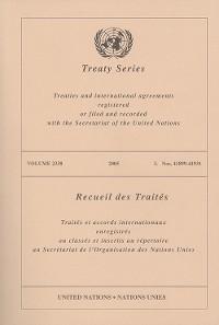Cover Treaty Series 2338/Recueil des Traités 2338